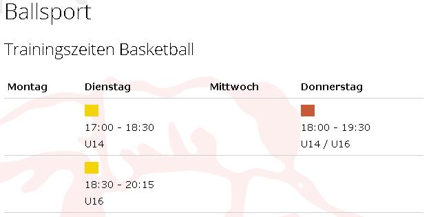 Trainingszeiten_Basketball